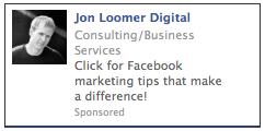 Facebook Sponsored Result Ad 2