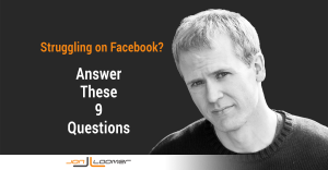 Struggling on Facebook Answer 9 Questions