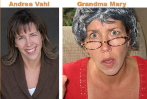 Andrea Vahl Grandma Mary