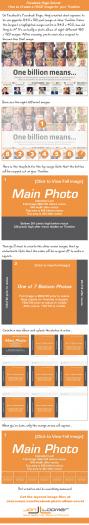 Facebook Page Secret: Create a HUGE Image for Your Timeline [Infographic]