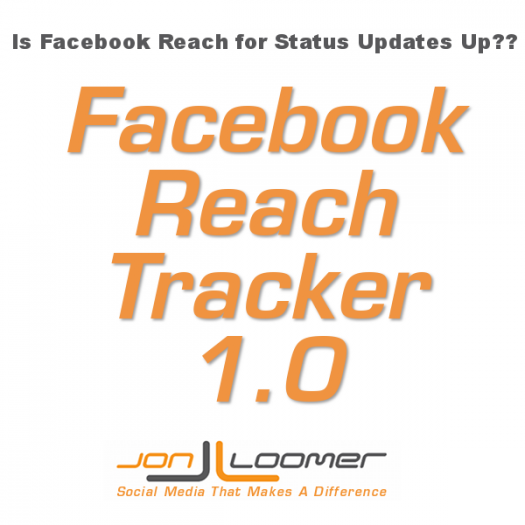 Is Facebook Page Reach for Status Updates Up? Prove It!