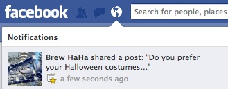 Facebook Page Notifications Alert
