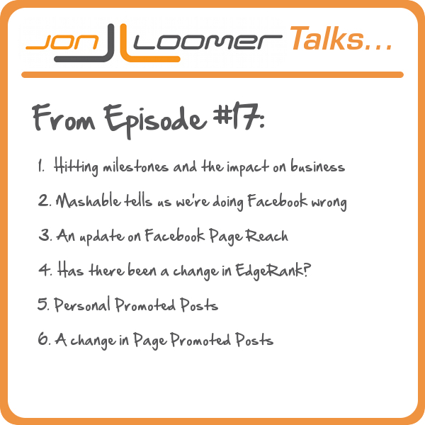 Jon Loomer Podcast Episode 17