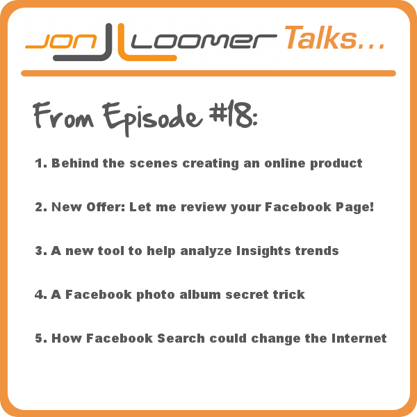 Jon Loomer Podcast Episode 18