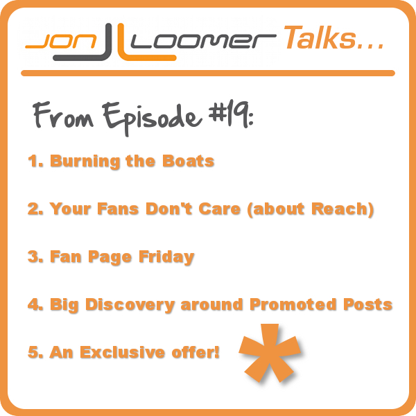 Jon Loomer Talks Episode 19