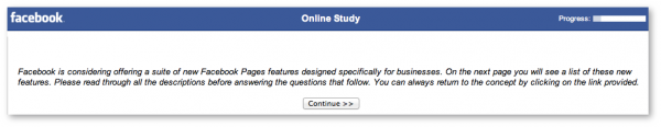 Facebook Survey Business Suite