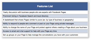 Facebook Survey Suite of Business Services