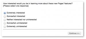 Facebook Survey Business Suite Interest Level
