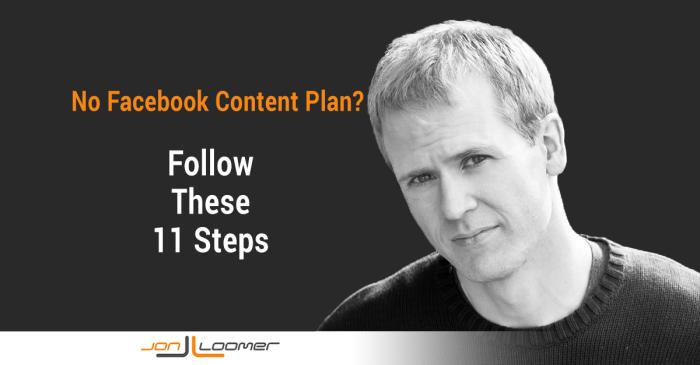 facebook content plan 700x365 11 Factors That Drive a Facebook Content Plan That Works