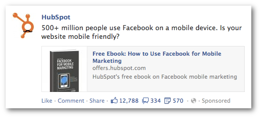 Hubspot Promoted Post