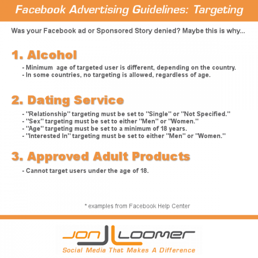Facebook Advertising Guidelines: Targeting