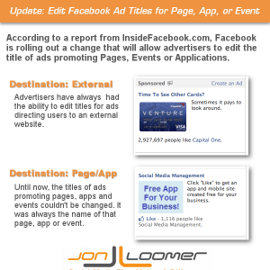 Edit Facebook Ad Titles for App Page Event