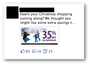 Facebook Ad Error Discount