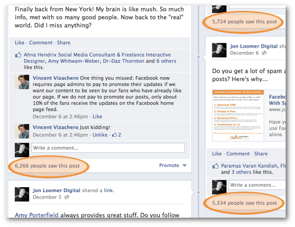 facebook page reach 2 Spotted: Is Facebook Page Reach Back Up?
