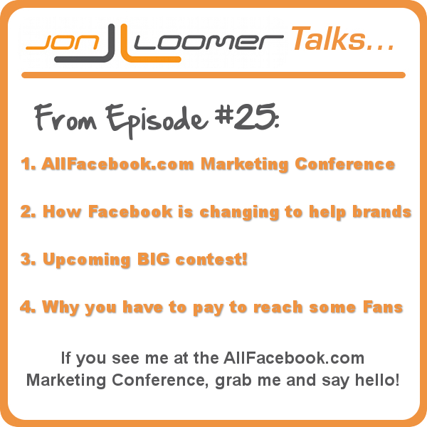Jon Loomer Talks Podcast 25