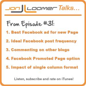 Jon Loomer Podcast 31