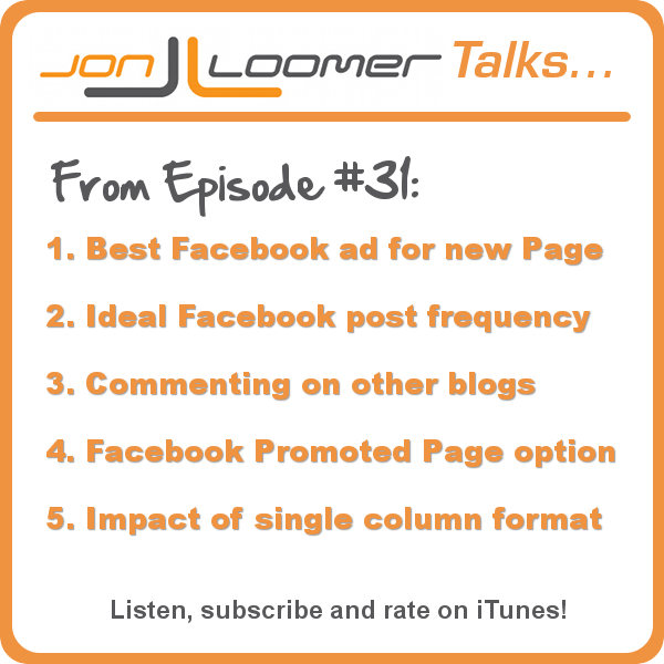 Jon Loomer Podcast 31