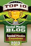 Social Media Examiner Top 10 Social Media Blogs of 2013