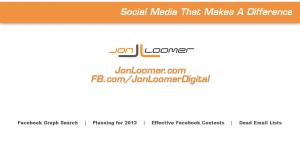 Jon Loomer VLOG #5