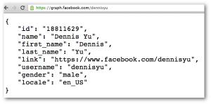 Dennis Yu Facebook Graph