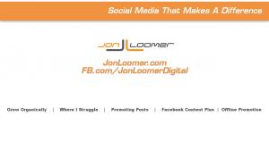Jon Loomer Video Blog Episode #7