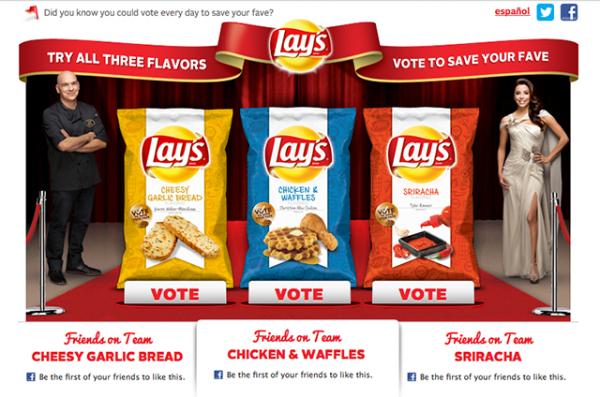 "Lays ""Do Us a Flavor"""