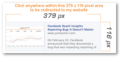 Facebook Link Share Dimensions