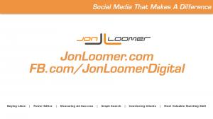 Jon Loomer Video Blog #8