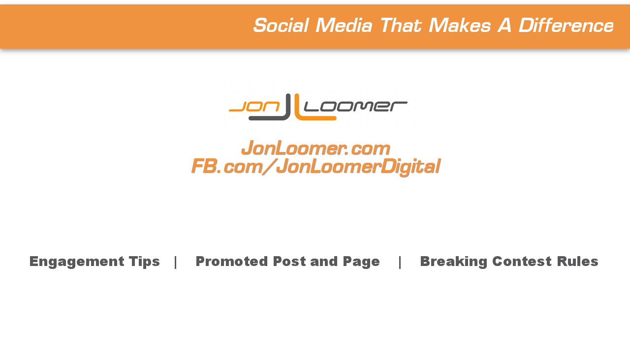 Jon Loomer Video Blog Episode 7