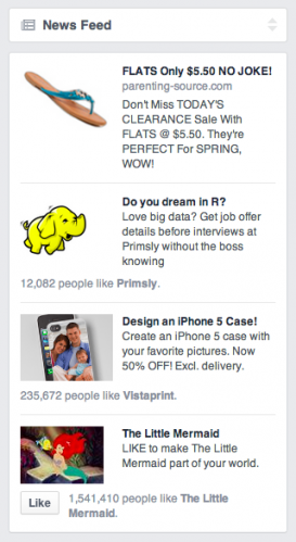 Facebook Marketplace Ads New News Feed