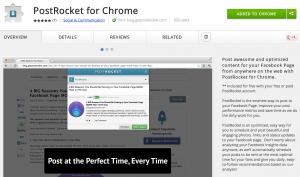 PostRocket for Chrome