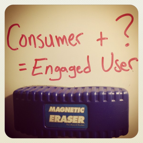 Consumptions vs. Engaged User