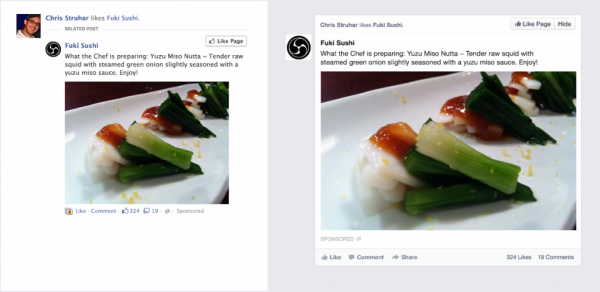 Facebook Ads in the New News Feed