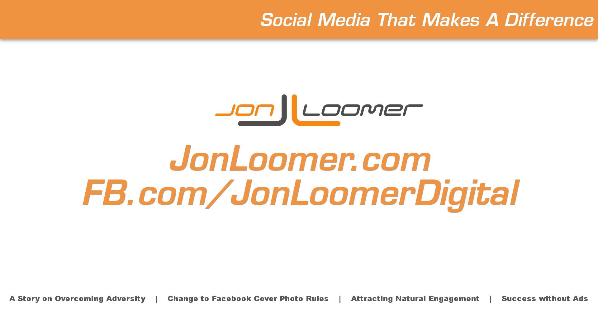 Jon Loomer VLOG 3/21