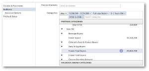 Facebook Partner Categories Power Editor
