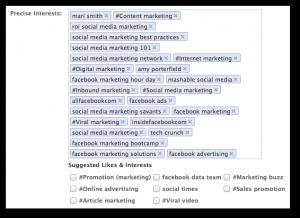 Facebook Precise Interests
