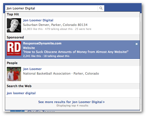 facebook sponsored search jonloomerdigital 11 Powerful Ways to Increase Relevant Facebook Likes with Ads