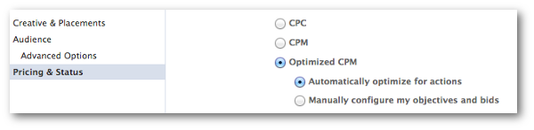 Facebook Conversion Specs Optimized CPM