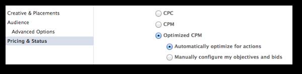 Facebook Conversion Specs Optimized CPM