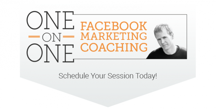 one one one headerB 700x358 One on One Facebook Marketing Coaching