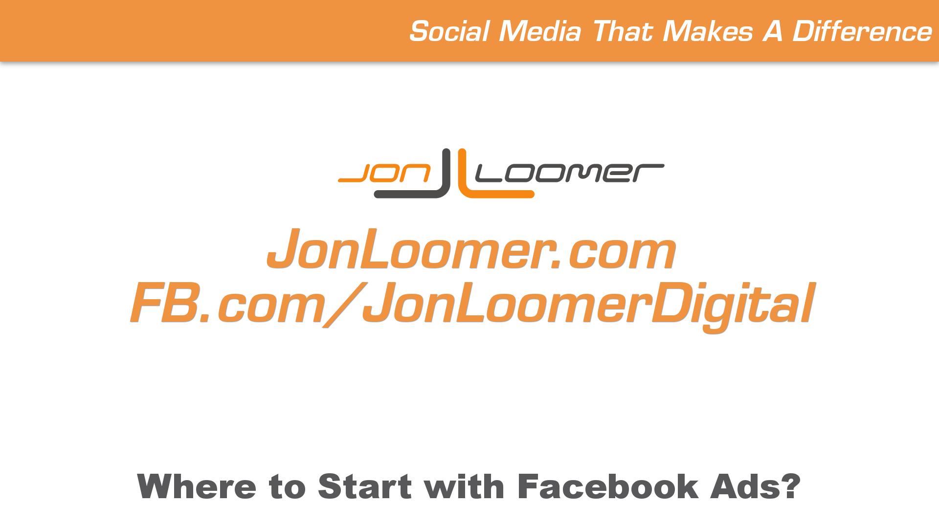 Jon Loomer VLOG 0509