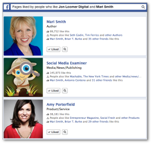 Facebook Graph Search Pages Liked Two