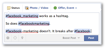 facebook hashtags special characters Facebook Hashtags for Brands: What You Need to Know