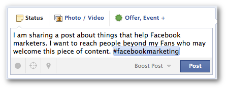 Facebook Hashtags Short
