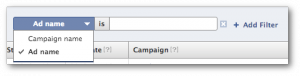 Facebook Ads Reporting Filters