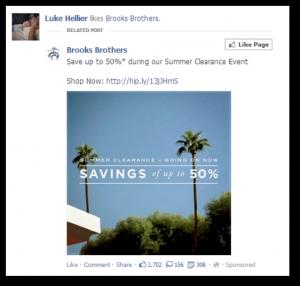 Facebook Photo Post Ad