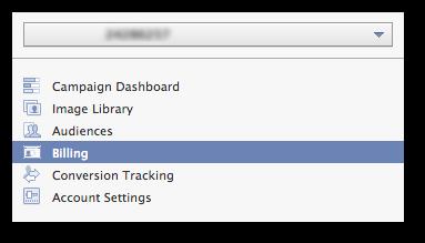 Facebook Power Editor Billing