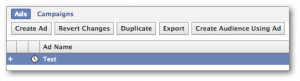 Facebook Power Editor Duplicate Ad