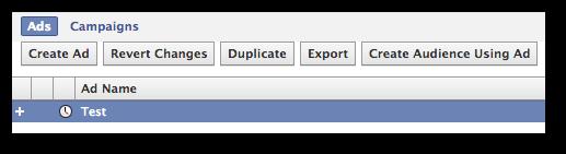 Facebook Power Editor Duplicate Ad
