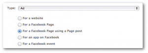 Facebook Power Editor For a Page Post